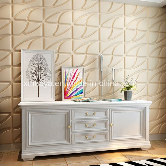 China Textured Acoustic Insulation 3d Panel Materials For Interior