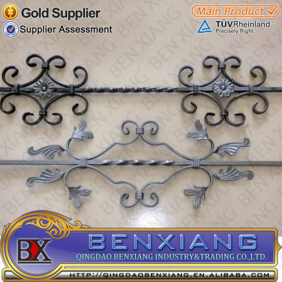 Wrought Iron Fence Railing Parts pictures & photos