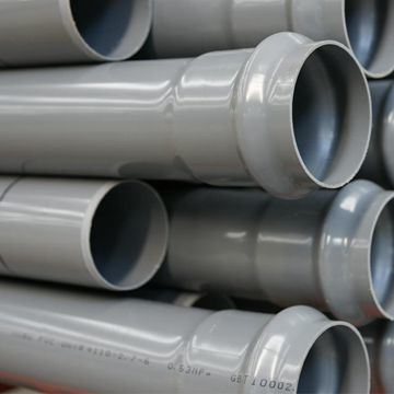 China Hot Sale Large Diameter 14 Inch 200mm UPVC PVC Drain Pipe Price