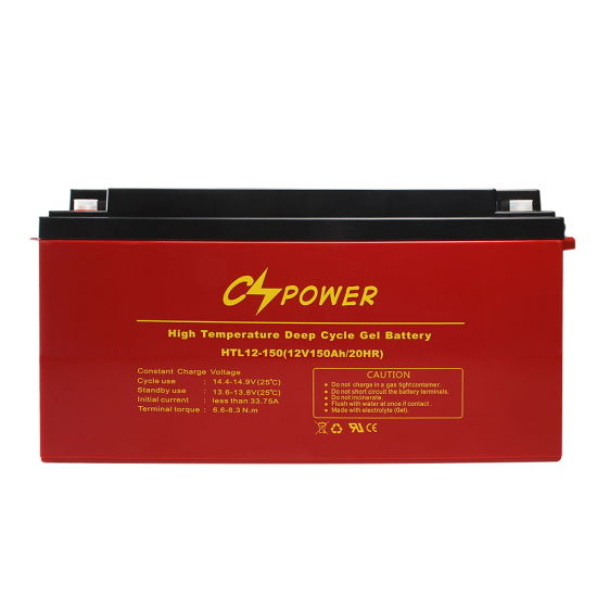 12V 150ah Maintenance Free Gel Batteries with 3 Years Warranty