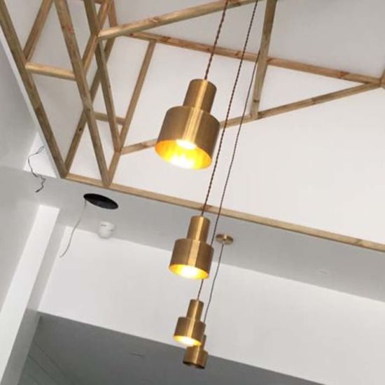 Strange Post Modern Mini Antique Brass Dining Room Hanging Lighting For Kitchen Download Free Architecture Designs Viewormadebymaigaardcom