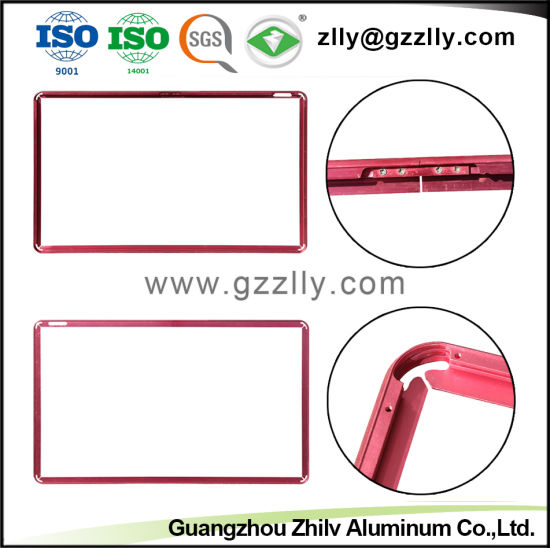Customized Aluminum Extruded Profile of TV Accessories pictures & photos