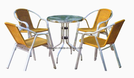 China Outdoor Garden Furniture Aluminum Rattan Wicker Set (LL-RST012 ...