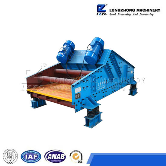 Mining Sand Dewatering Vibrating Screen Machine for Sale