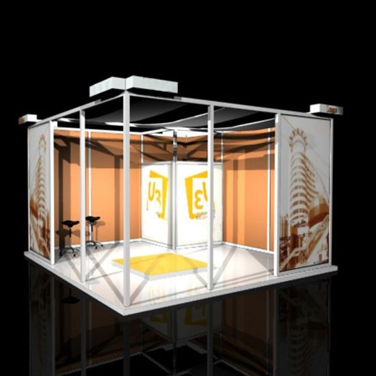 Exhibition Stand Frame : China aluminum frame trade show booth exhibition stand china