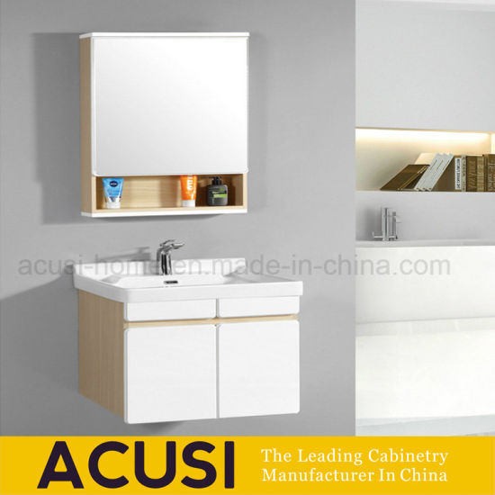China Small Space Use Modern Style Wall Mount Bathroom Vanity Acs1