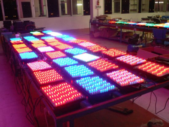 Wholesale 192PCS RGB LED Techno Strobe Stage Effect Background Light pictures & photos