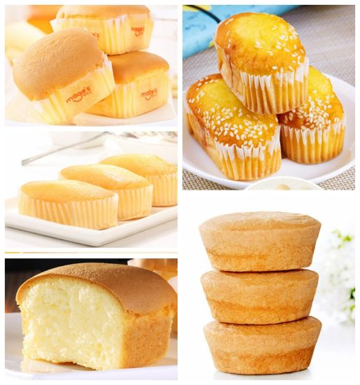 Full Automatic Filled Custard Cake Production Line pictures & photos