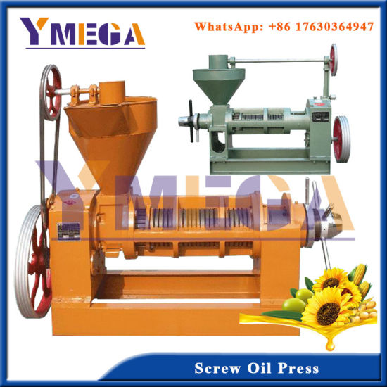 Integrated Rapeseed and Canola Oil Press for Cooking Oil pictures & photos
