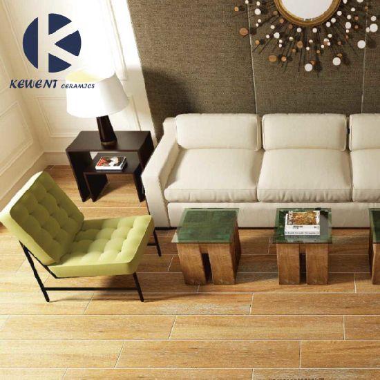 China Hot Sale Interior Building Material Wooden Look Ceramic Tiles