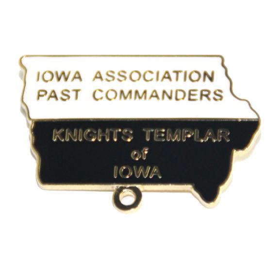 Top Selling Fashion Metal Logo Custom Gold Name Badge