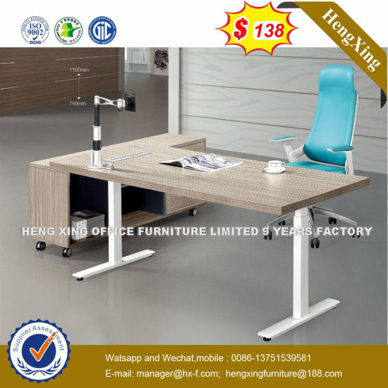 Lecong Market   Wooden Black Color Office Desk (NS-D008) pictures & photos