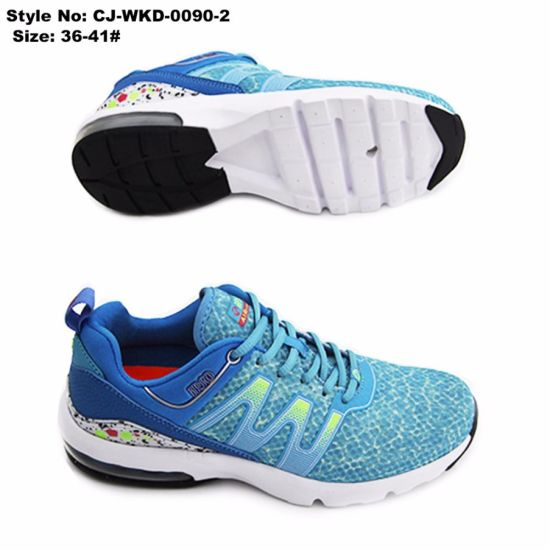 2017 New Fashionable Women Anti-Slip Sport Shoe pictures & photos