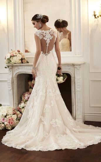 Amelie Rocky 2018 Sexy Backless Lace Wedding Dress Mermaid