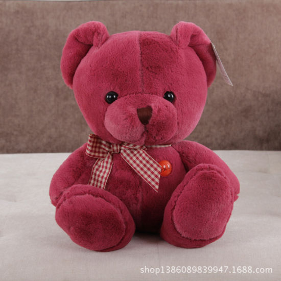 25cm Red Plush&Stuffed Teddy Bear Gift pictures & photos