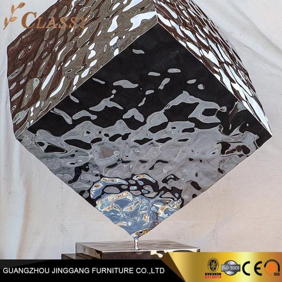 Large Customized Casting Polished Stainless Steel Sculpture