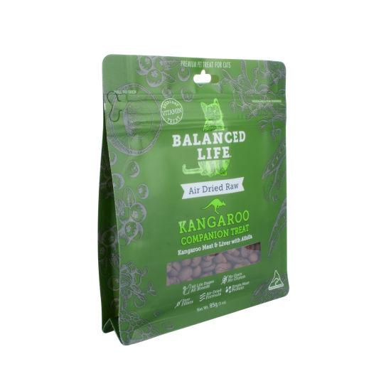 Wholesale Customized Printed Product Packaging Plastic Pet Food Ziplock Bag