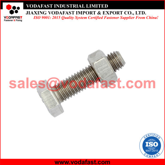 c884ee20d ISO 4017 DIN 933 Hex Bolt with ISO 4032 DIN 934 Hex Nuts Stainless Steel  pictures