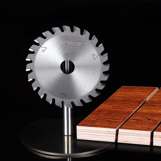 German Technology Conical Scoring Saw Blade Alternate Inverted Triple Chip Tooth for Wood Cutting
