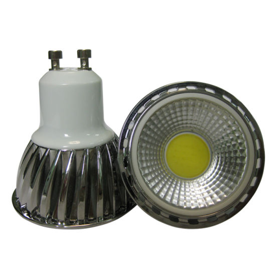 6W COB GU10 LED Spotlight pictures & photos