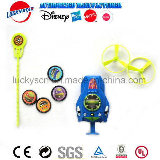 Multi Function Plastic Toy with Flyer and Disc for Promotion