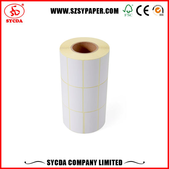 Thermal Barcode Adhesive Label Self Adhesive Sticker pictures & photos