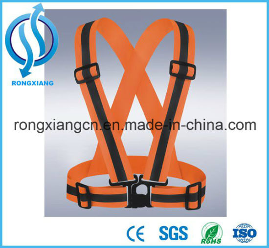 China Manufacture Customized Cheap Mesh Green Reflective Safety Vest/Waistcoat pictures & photos
