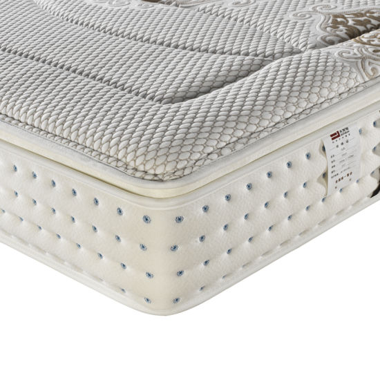 Pocket Spring Mattress with Knitting Fabric for Living Furniture Fb820 pictures & photos