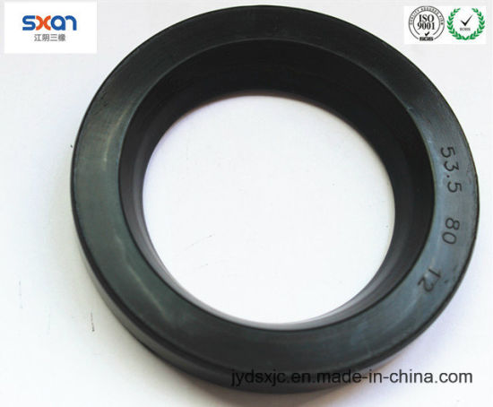 China Fluorine K Type Rubber Oil Seal Ring for Pump Valve