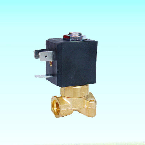 Air Compressor Parts Normally Closed Type 24V Solenoid Valve