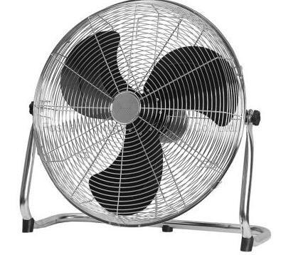 16 Inch Electric High Velocity Metal Floor Fan