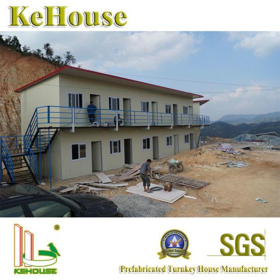 Pakistan Quick Installation Steel Construction Material Beam Modular Prefabricated House Building