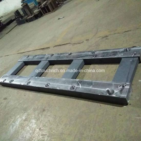 OEM CNC Machining Mild Steel Pump Base