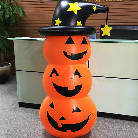 Halloween Pumpkin Tumbler Decorations-Pumpkin Inflatable Roly-Poly Decoration Fairy pictures & photos