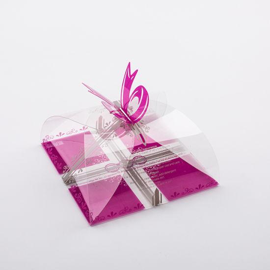 Hot Sales Custom Printed Foldable Plastic Clear PVC Gift Box