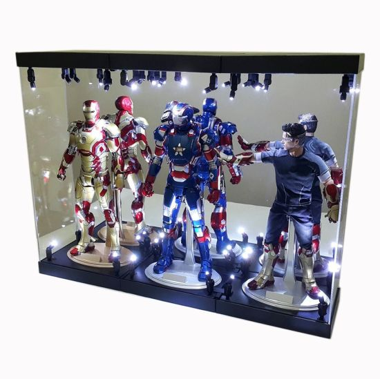 Acrylic Toy Storage Box With LED Illumination