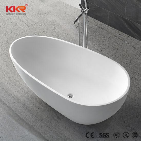 China Luxury One Piece Solid Surface Bath Hot Tubs - China Bathtub ...