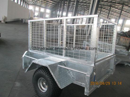 China 5x3 Galvanised Atv Tow Behind Trailer China Small