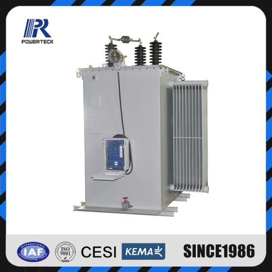 24kv Single Phase Overhead Oil Immersed High Voltage Step Voltage Regulator