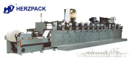 2~8 Color Flexo Printing Machine for Label/Envelope Printing