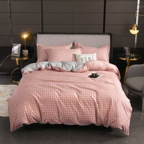 Home Textile Wholesale Exporter Printed Polyester Duvet Cover Bedsheet Bedding Set Linen