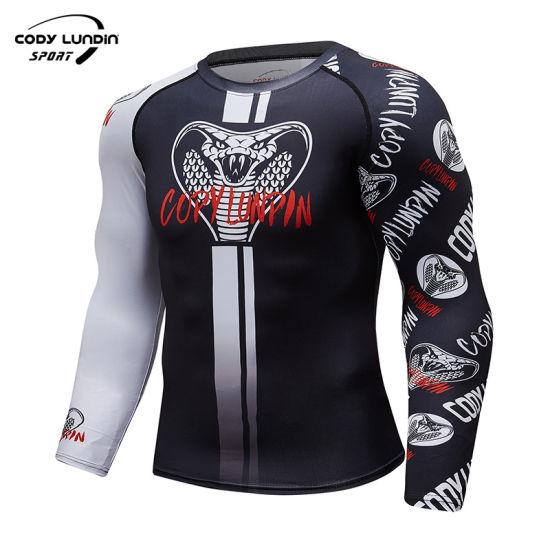 Marvel T-Shirts O-Neck Compression Clothes Men's Gym Wear