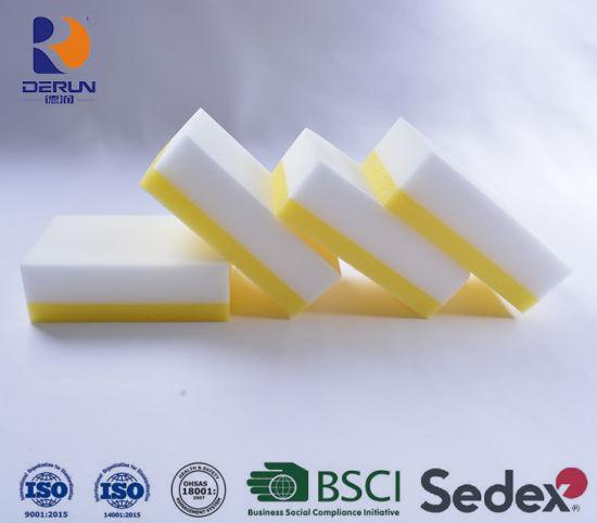 Melamine Multi Functional Foam Cleaner PU Foam with Melamine Sponge