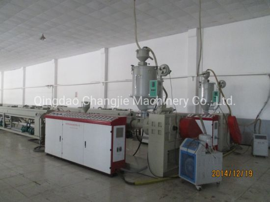20-110mm Plastic HDPE PE PP Pipe Extrusion Production Line /Making Machine for Electric and Water Supply