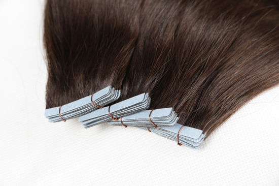 Wholesale Price High Quality PU Skin Weft Hair Extensions 20inch