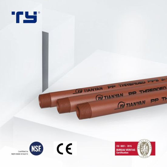 Factory Derict Selling Pph Thread Pipe Iram 13478 Standard