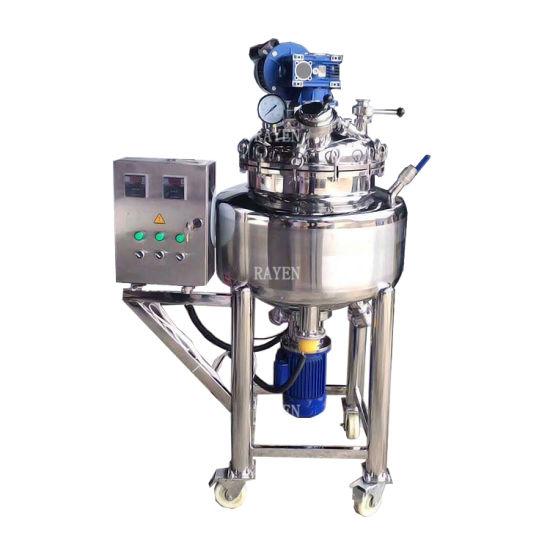 Sanitary Stainless Steel Industry Liquid Agitator Tank Industrial Mixer