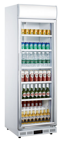 Supermarket Commercial Upright Chiller Beverage Beer Bottle Display Cooler (LG-252DF)