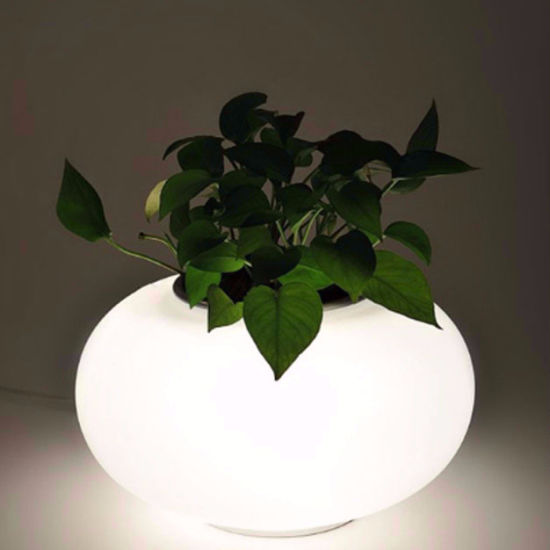 Modern Opal White Base Glass Table Lamp for Hotel Project pictures & photos