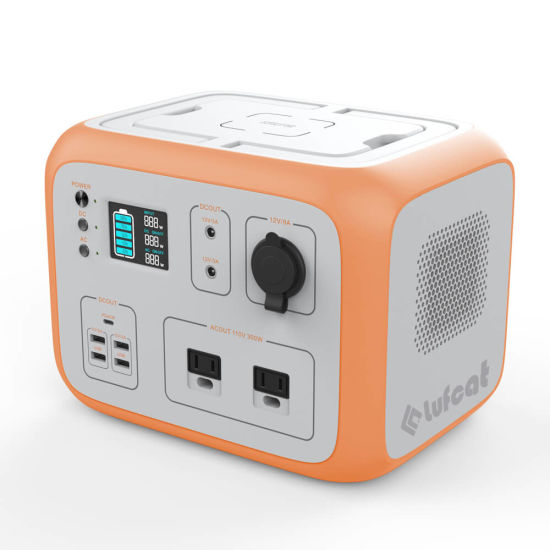500wh Portable Power Station with High Security BMS System, Smart, Durable, Clear Power for Back up Use Outdoors, off-Grid, Emergency.